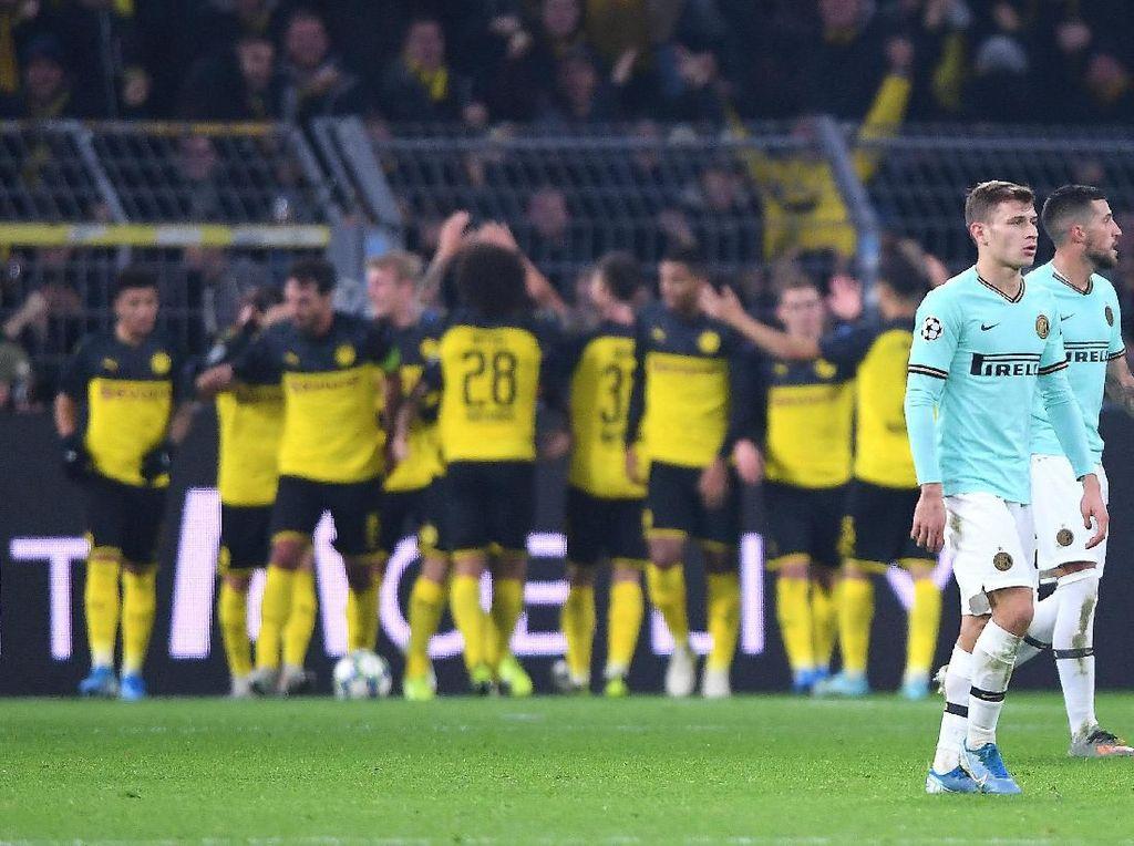 Duh! Inter Milan Kena Comeback Dortmund