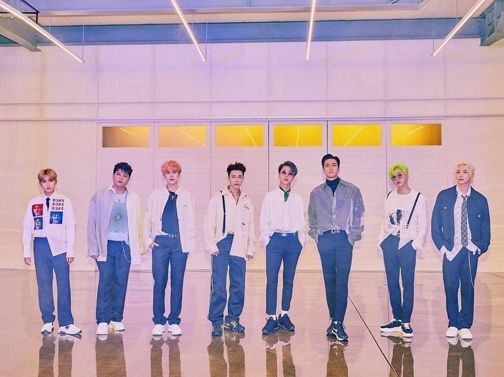 Tiket Konser Super Junior Super Show 8 di Indonesia Dijual Rp 900 Ribu