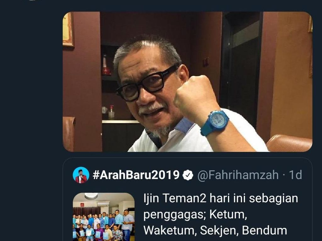 Deddy Mizwar Isyaratkan Gabung Partai Gelora Indonesia