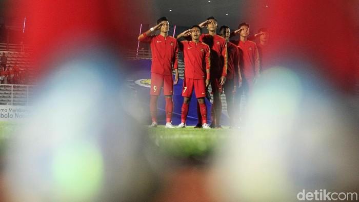 Timnas Indonesia U-19 meraih tiga poin pertamanya di Kualifikasi Piala Asia U-19 2020. Menghadapi Timor Leste U-19, anak asuh Fakhri Husaini itu menang 3-1.