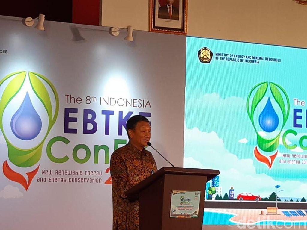 Di Depan Pengusaha, Menteri ESDM Curhat Pemanfaatan EBT Baru 8%