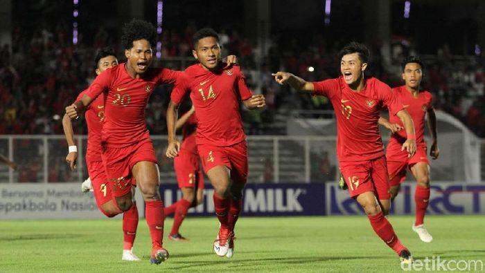 Amirudin Bagus Kahfi Alfikri masuk Timnas Indonesia U-20 Allstar. (Foto: Rifkianto Nugroho/detikSport)