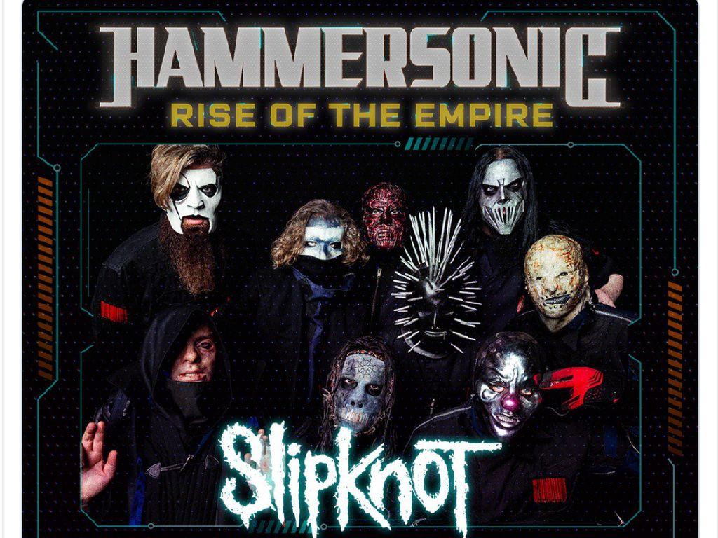 Cerita CEO Hammersonic Sukses Undang Slipknot