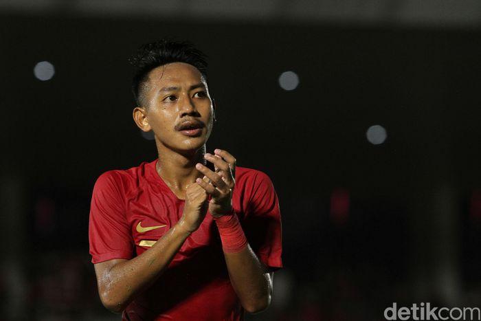 Menghadapi Timor Leste U-19, anak asuh Fakhri Husaini itu menang 3-1.