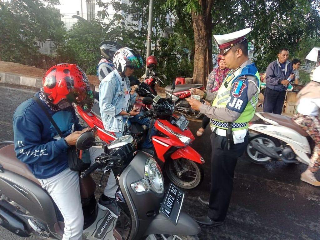20.701 Pengendara Ditindak dalam 14 Hari Operasi Zebra Kalimaya Banten