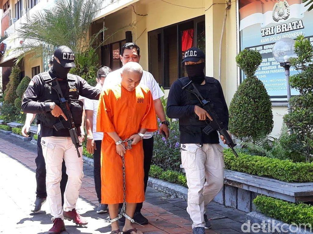 Polisi Tangkap Sopir Taksi Kurir Sabu 1,3 Kg di Bali