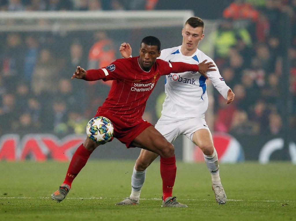 Liverpool Diimbangi Genk 1-1 di Babak Pertama