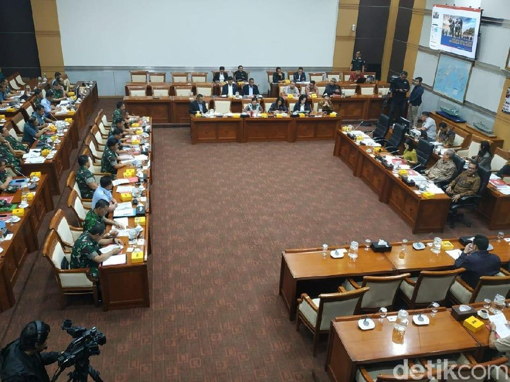 Panglima TNI Rapat Bersama DPR, Bahas Pemindahan Ibu Kota