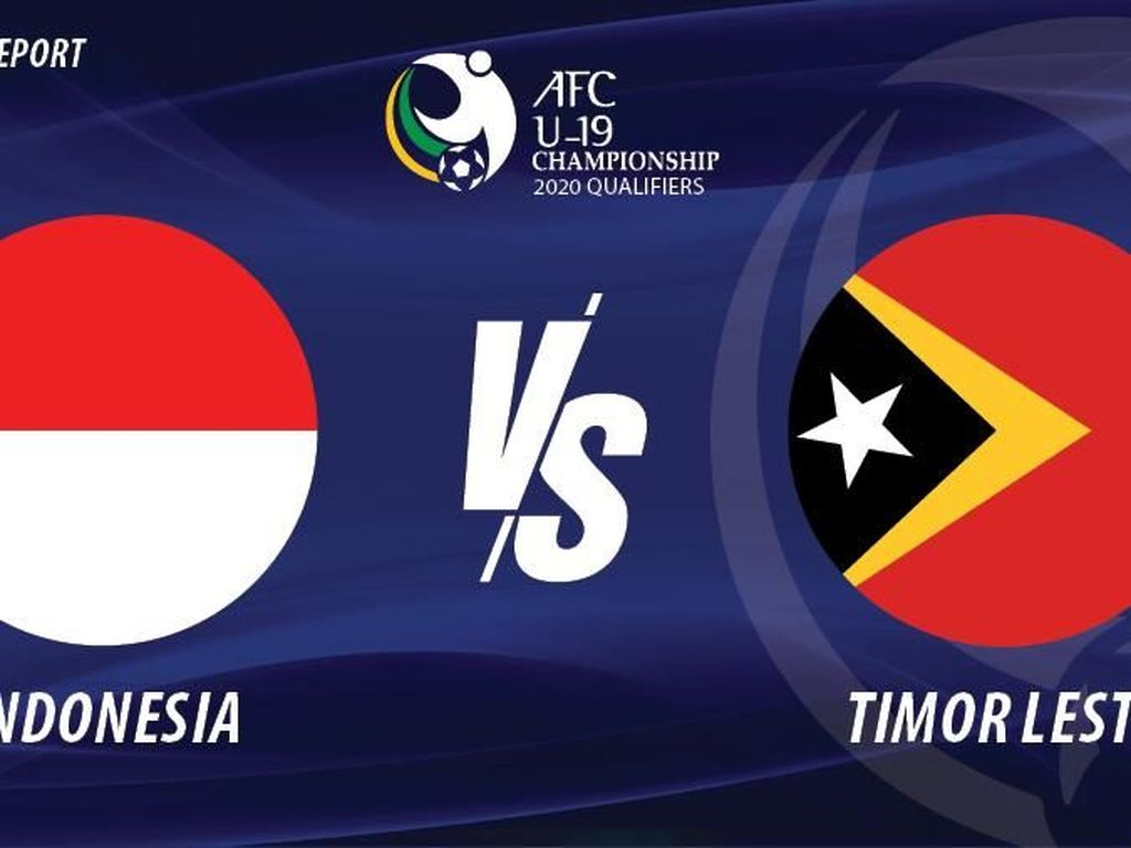 Live Report: Indonesia Vs Timor Leste