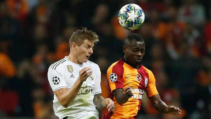 Real Madrid Gulung Galatasaray