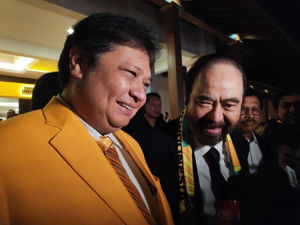 NasDem Ungkap Surya Paloh-Airlangga Bertemu Bahas Konvensi Capres