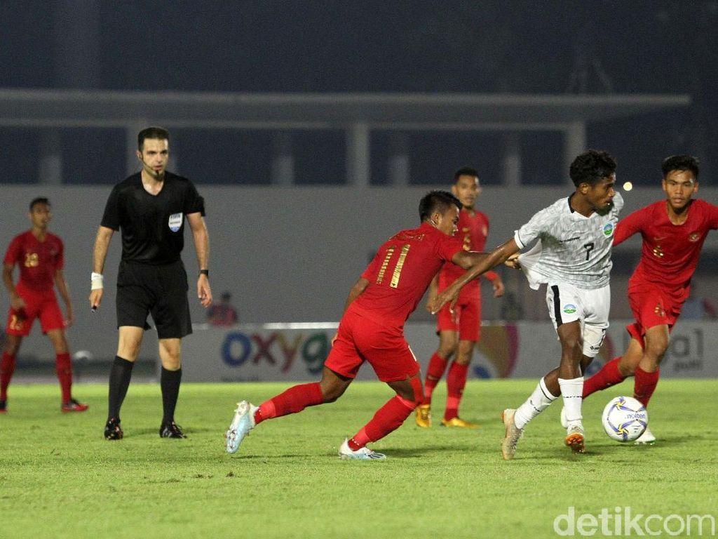 Puasnya Beckham Indonesia Bisa Kalahkan Timor Leste