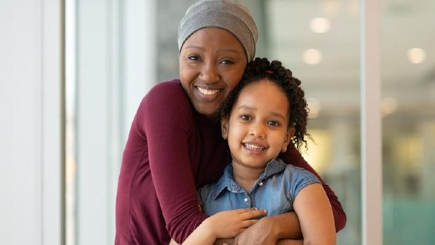 Ilustrasi ibu kena kanker payudara