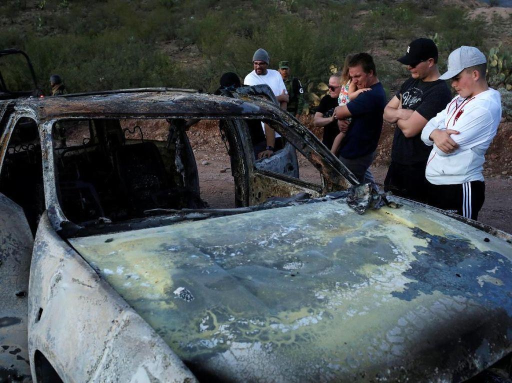 Meksiko Tangkap 7 Tersangka terkait Pembantaian 9 Wanita dan Anak-anak