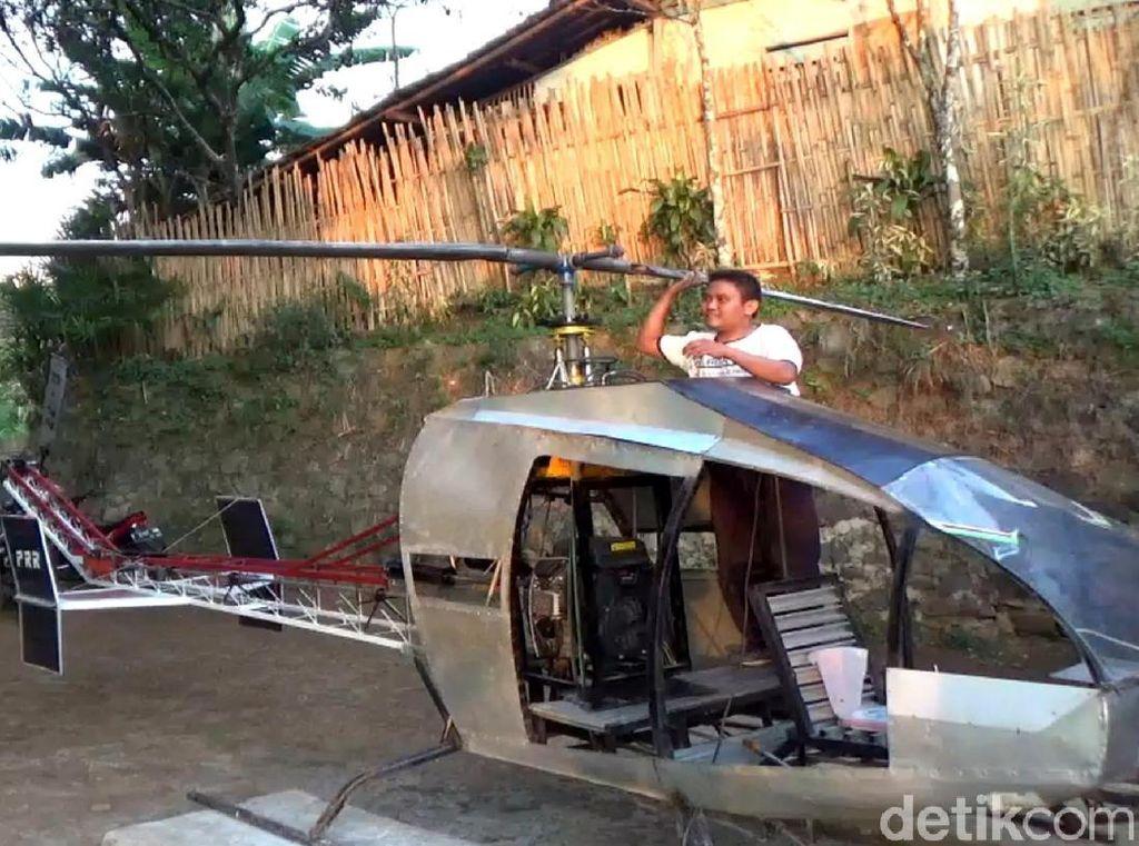 Ingin Jadi Pilot Helikopternya Sendiri, Jujun Mengaku Tak Cari Sensasi