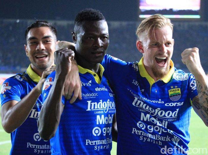 Kevin van Kippersluis sudah fit untuk membela Persib Bandung lagi. (Foto: Wisma Putra/detikcom)