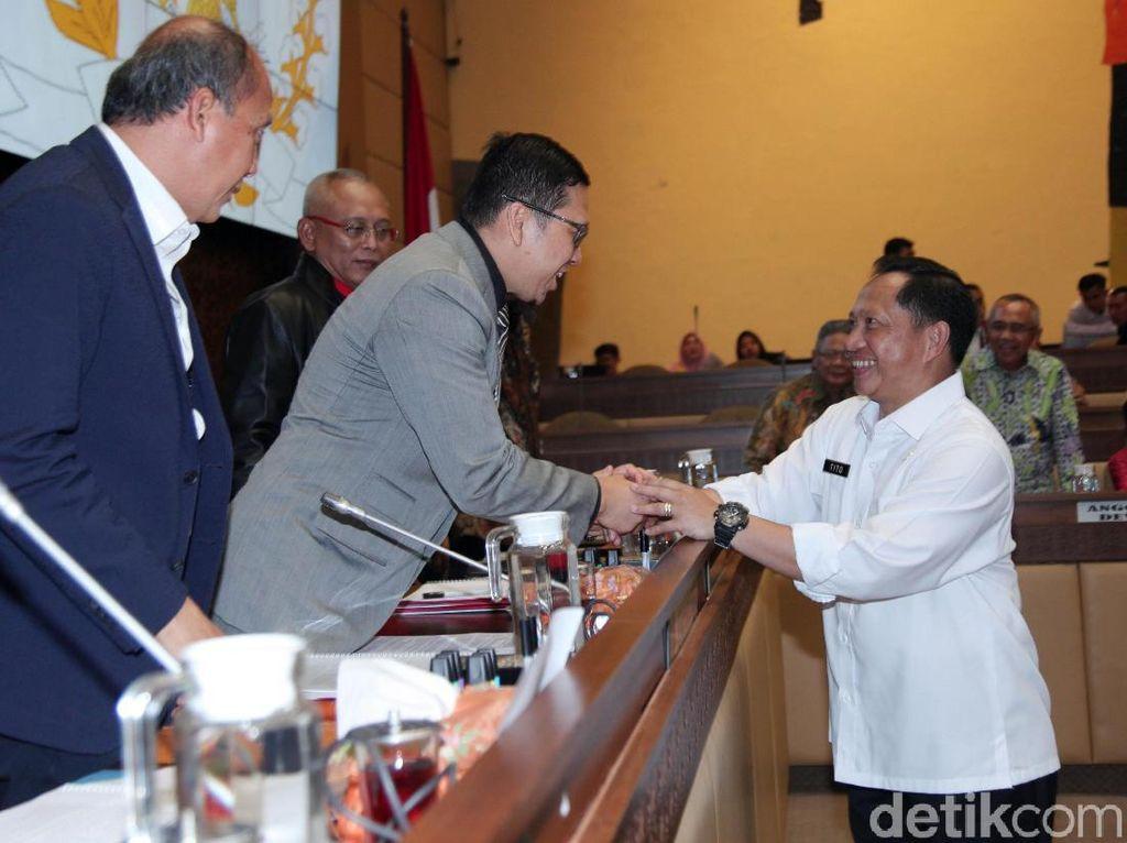 Tito Ikut Ratas Kabinet, Komisi II Tunda Raker Bahas Pilkada