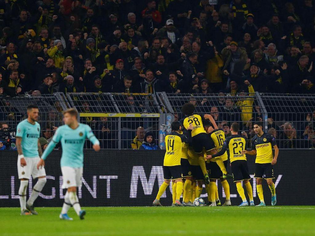 Dortmund Vs Inter: Comeback, Die Borussen Tumpas Nerazzurri 3-2