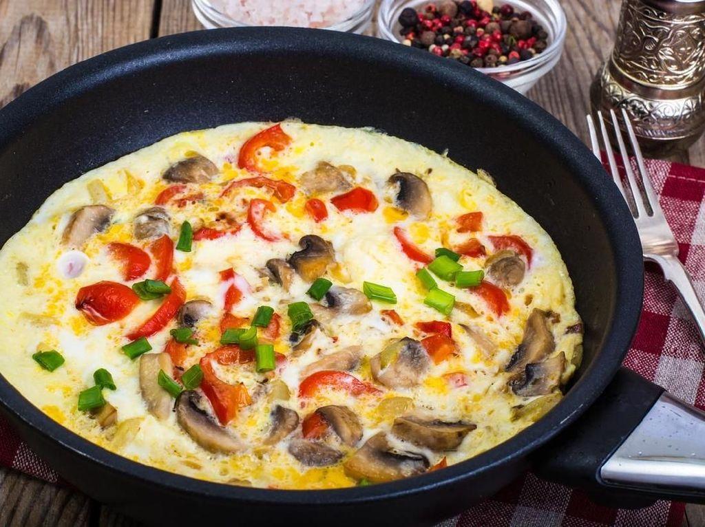 Omelet Sayuran yang Renyah, Praktis dan Kaya Nutrisi