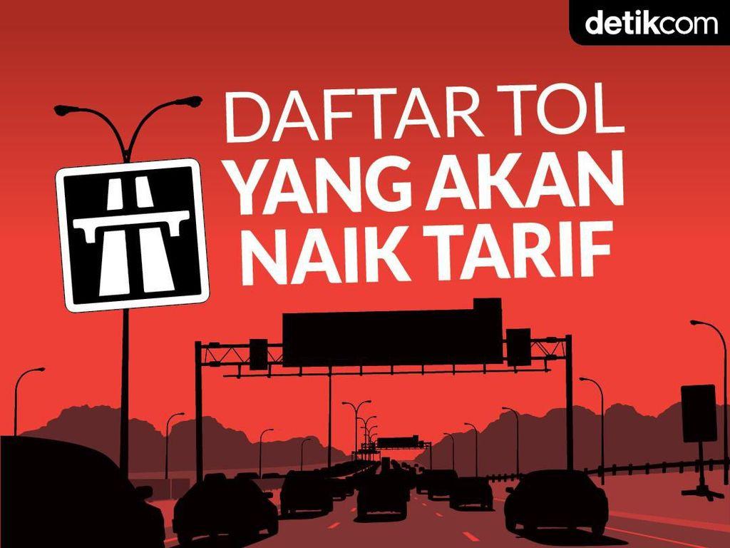 Masih Ditunda, Ini 10 Jalan Tol yang Tarifnya Bakal Naik