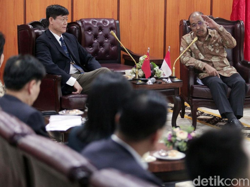 Wakil Ketua DPD Terima Komite Perlindungan Lingkungan Guangdong