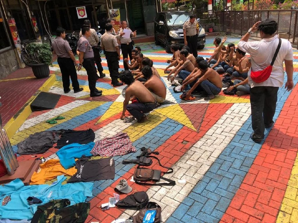 17 Juru Parkir hingga Pak Ogah di Kebon Jeruk Ditangkap Polisi