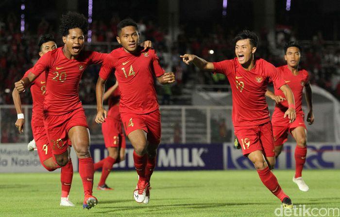Timnas Indonesia U-19 meraih tiga poin pertamanya di Kualifikasi Piala Asia U-19 2020.