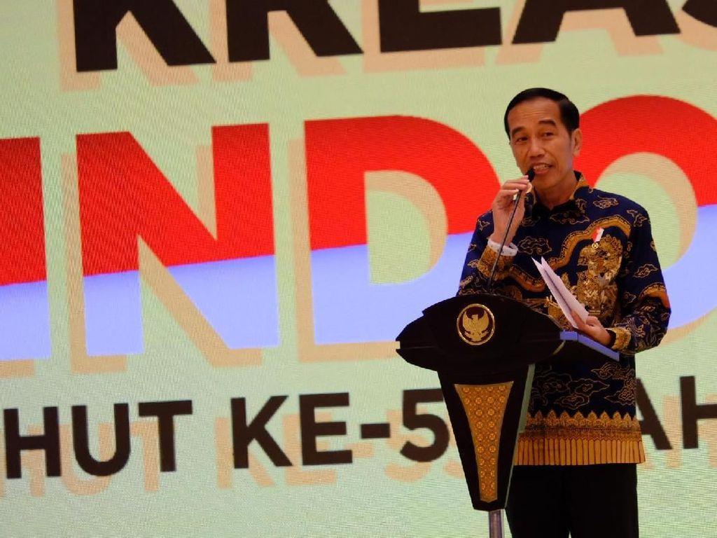 Seolah Bercanda, Jokowi Punya Maksud Khusus Soroti Rangkulan Paloh-Sohibul