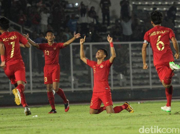 Link live streaming Timnas Indonesia vs Korea Utara di Kualifikasi Piala Asia U-19 2020 bisa disimak di sini. (Foto: Rifkianto Nugroho/detikcom)