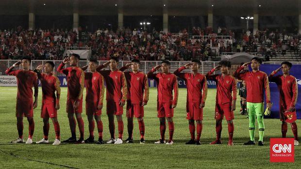 Timnas Indonesia U-19 menang 3-1 atas Timor Leste.