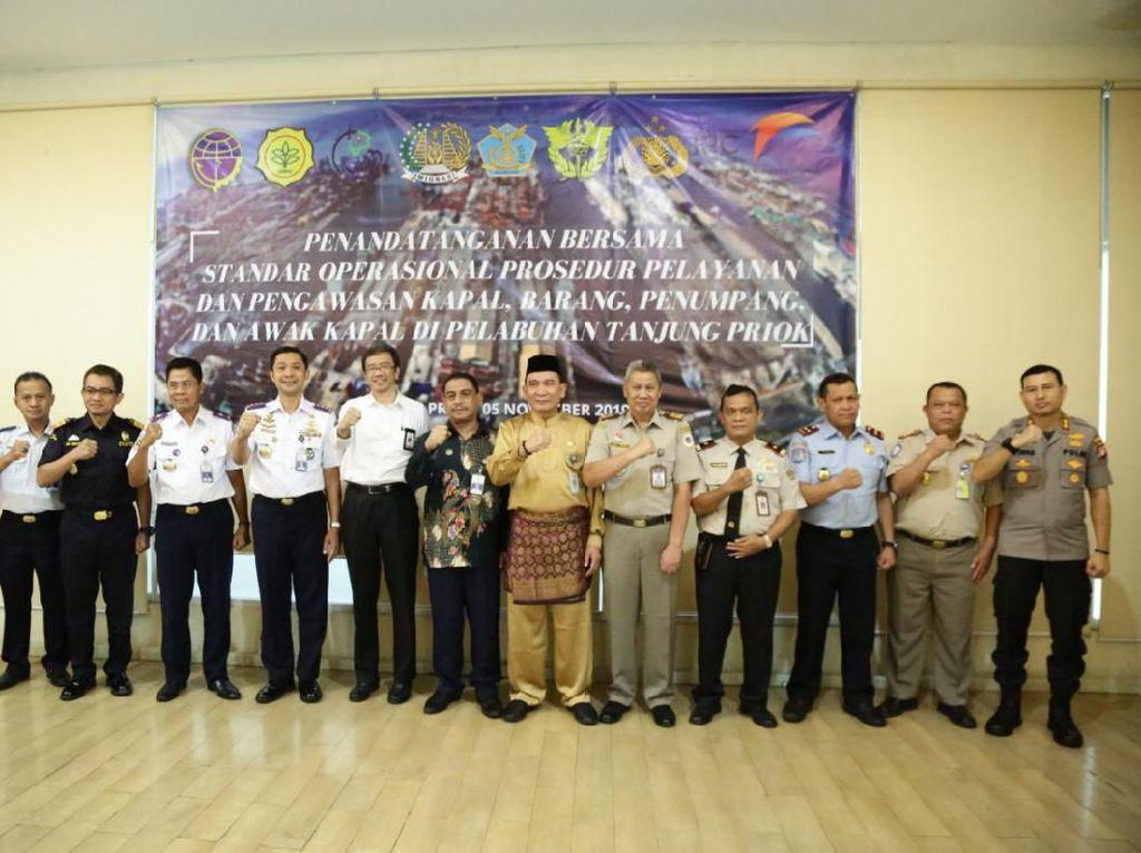 Hindari KKN, Pelabuhan Tanjung Priok Susun SOP Pengawasan Kapal