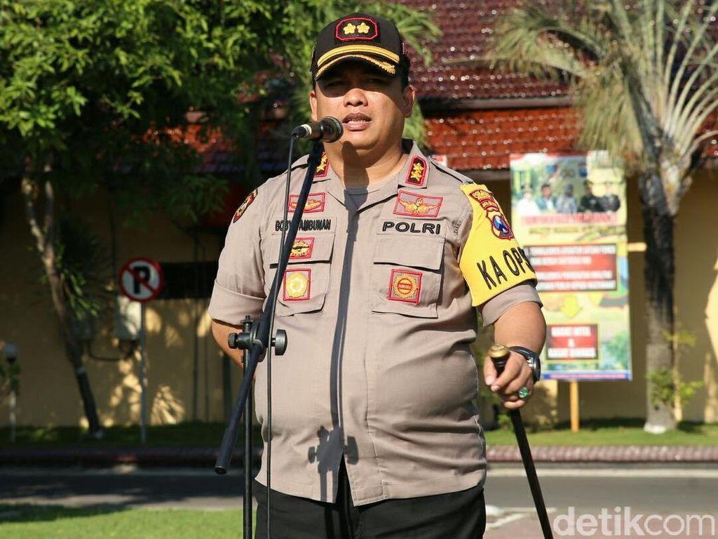 Pilkades Serentak di Jombang Berjalan Aman, Ini Pesan Kapolres
