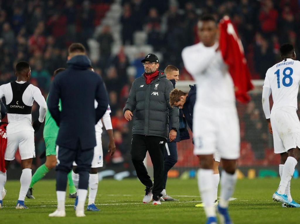 Liverpool Pas-pasan, Klopp: Yang Penting Menang dan Bebas Cedera