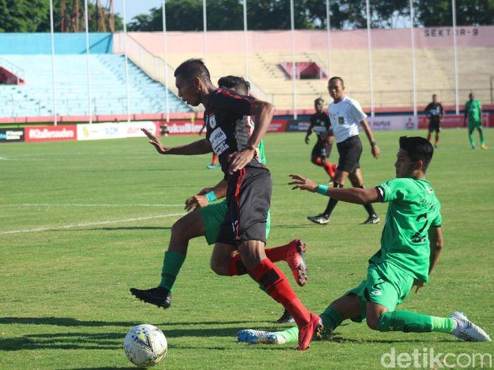 Persipura Jayapura tumbang 1-3 dari Bhayanglara FC di Liga 1. (Foto: Suparno/detikcom)