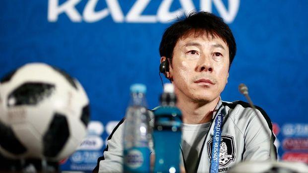 Shin Tae Yong membawa Korea Selatan kalahkan Jerman di Piala Dunia 2018.