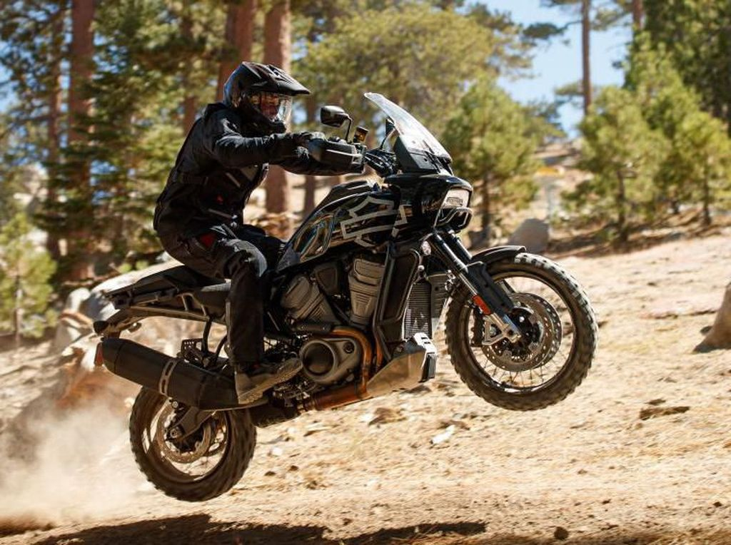Dua Moge Anyar Harley-Davidson, Sang Petualang dan Naked Kekar