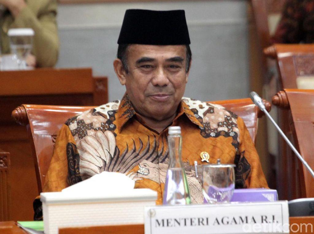 Polemik Cadar-Celana Cingkrang di Rapat Perdana Menag