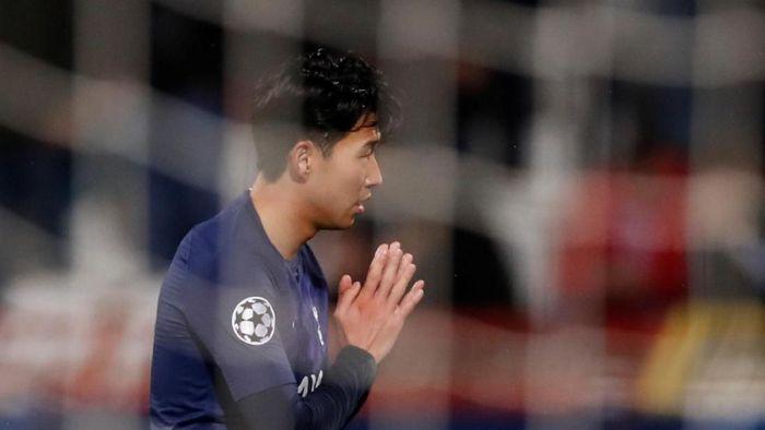Son Heung-Min dedikasikan gol untuk Andre Gomes (Action Images via Reuters/Andrew Boyers)