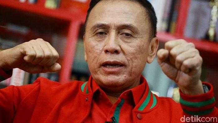 Ketua Umum PSSI Iwan Bule (Muhammad Ridho/detikSport)