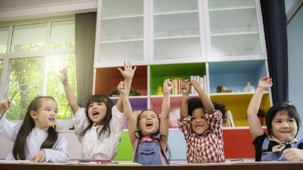 Ilustrasi anak preschool