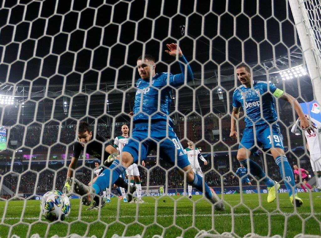 Juventus Tembus 300 Gol di Liga Champions