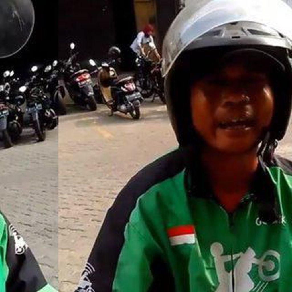 Tangis Driver Ojol Ini Pecah Saat Pesanan Makanan Rp 200 Ribu Dibatalkan Customer
