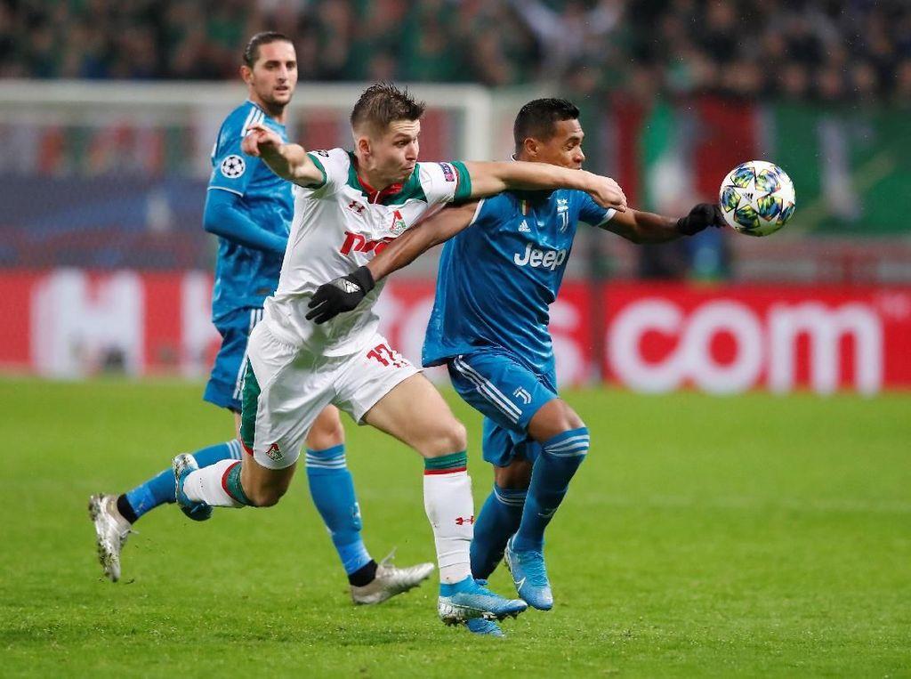 Juventus Keteteran Hadapi Kecepatan Lokomotiv
