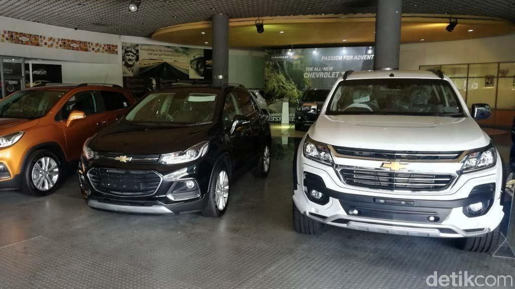 Cuci Gudang Rp 80 Juta, Mobil Chevy Diburu