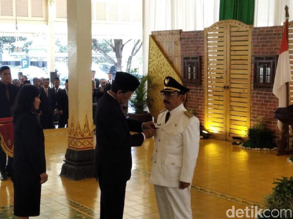 Sutedjo Resmi Jadi Bupati Kulon Progo yang Ditinggalkan Hasto Wardoyo