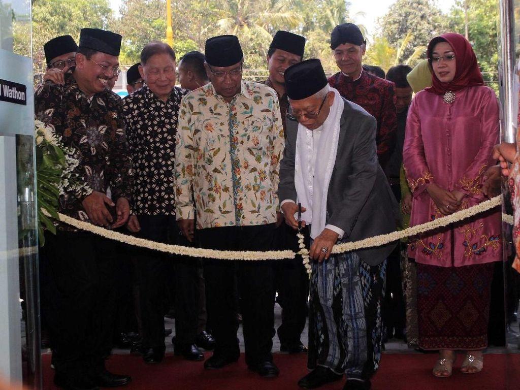 Wapres Resmikan RS Syubbanul Wathon