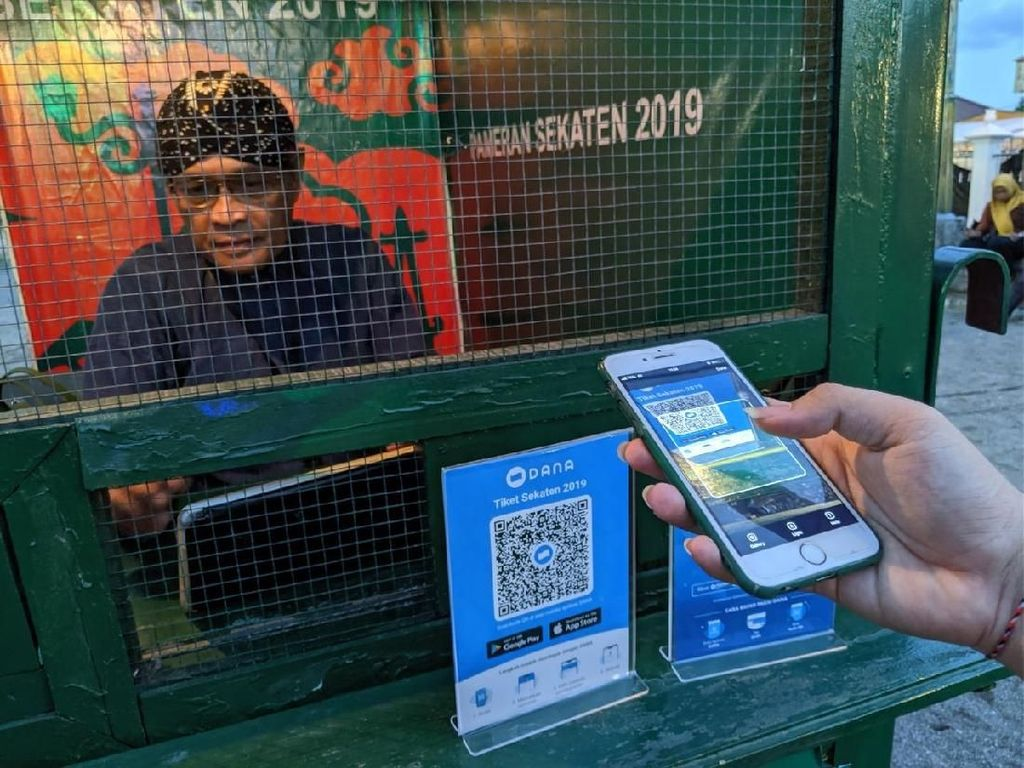 Transaksi Digital Jadi Warna Baru Tradisi Sekaten Yogyakarta