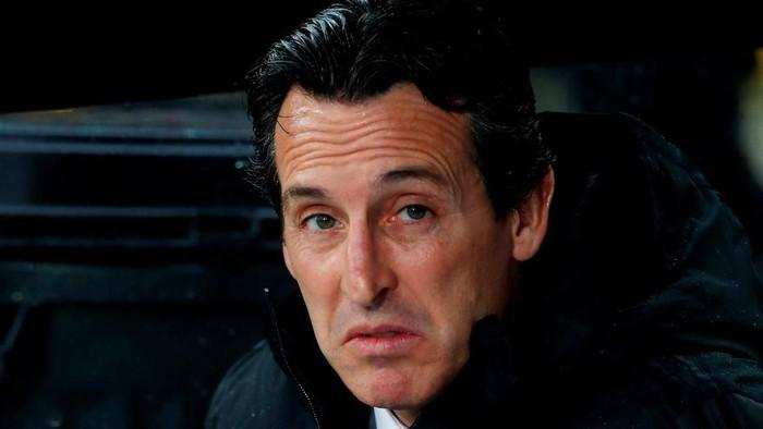 Soccer Football - Europa League - Group F - Vitoria SC v Arsenal - Estadio D. Afonso Henriques, Guimaraes, Portugal - November 6, 2019  Arsenal manager Unai Emery    Action Images via Reuters/Paul Childs
