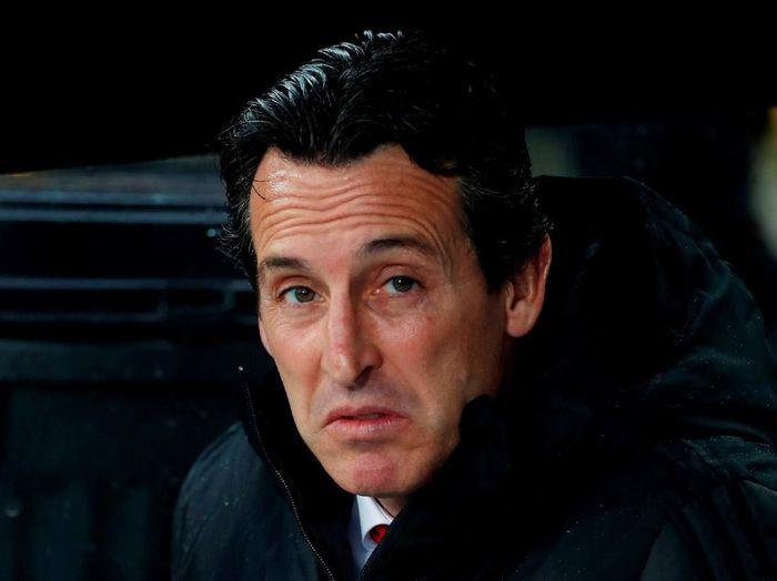 Unai Emery tak mau menjawab soal rumor pemecatan dirinya. (Foto: Paul Childs/Action Images via Reuters)