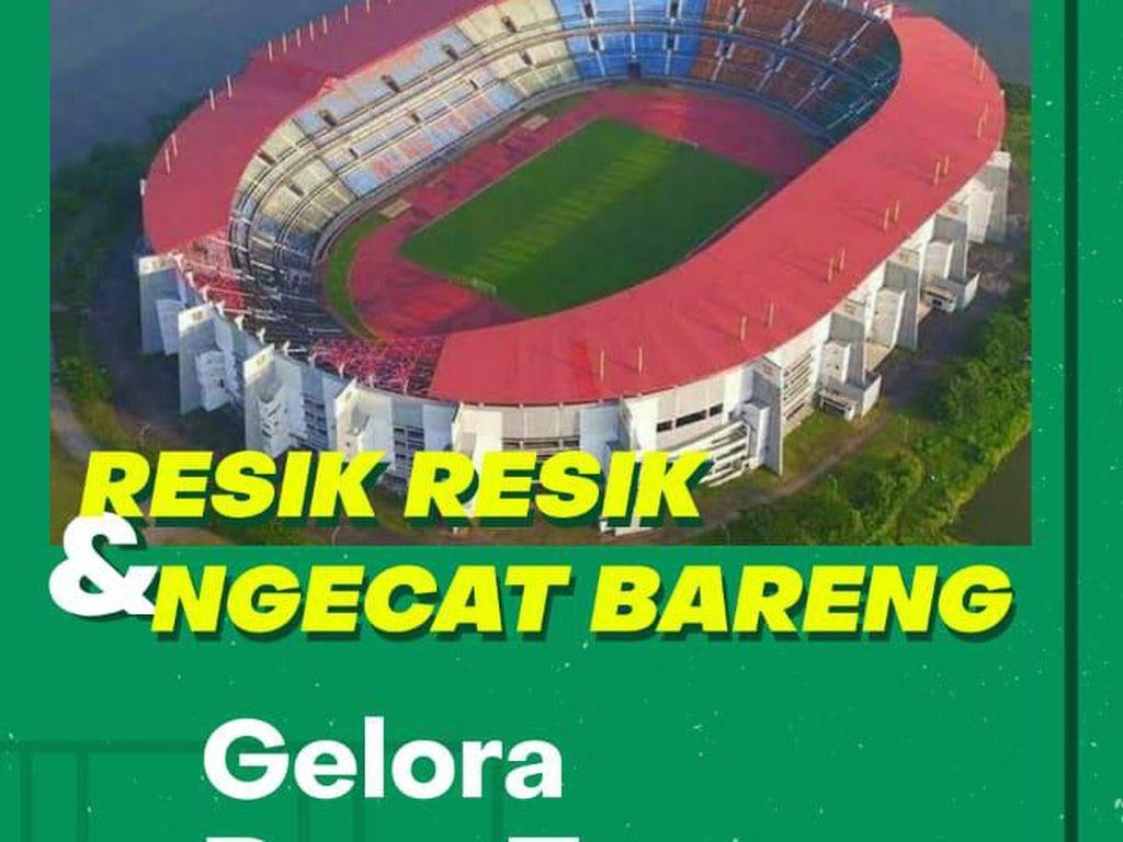 Pemkot Surabaya dan Bonek akan Bersih-bersih dan Cat Stadion GBT
